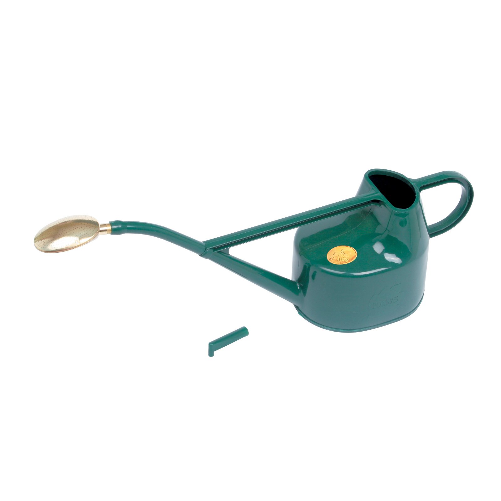 Haws 5 Liters Plastic Green Deluxe Outdoor Watering Can by Bosmere Inc