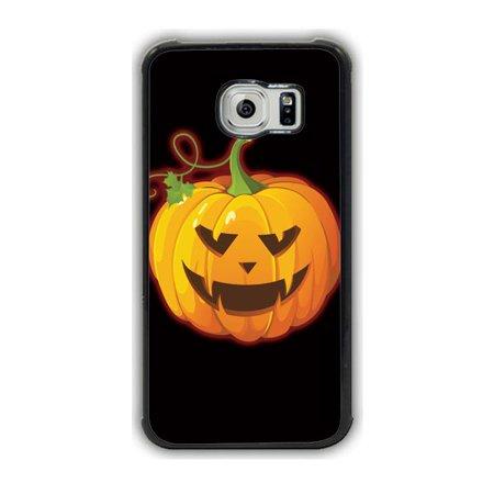 Halloween Jack O Lantern Galaxy S6 Case