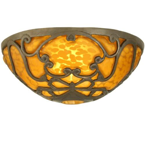 Meyda Tiffany 21417 Single Dome Glass Shade from the Swan...