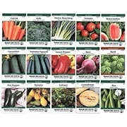 Heirloom Vegetable Garden Seed Collection  Assortment of 15 Non-GMO, Easy Grow, Gardening Seeds: Carrot, Onion, Tomato, Pea, More