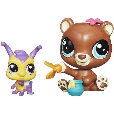 Littlest Pet Shop Pet Pawsabilities Happy Honeyman & Brianna Buzzer - Littlest Pet Shop Cupcakes