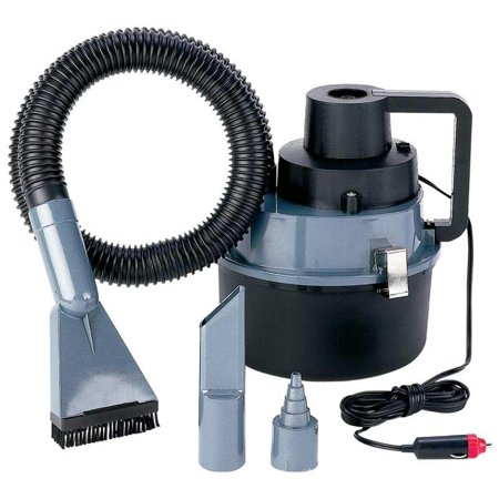 Titanium Dirt Magic Heavy-Duty Wet/Dry Auto or Garage Vac Heavy Duty Flexible Vacuum