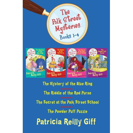 - The Polk Street Mysteries, Books 1-4: The Mystery of the Blue Ring, The Riddle of the Red Purse, The Secret at the Polk Street School, and The Powder Puff Puzzle - eBook