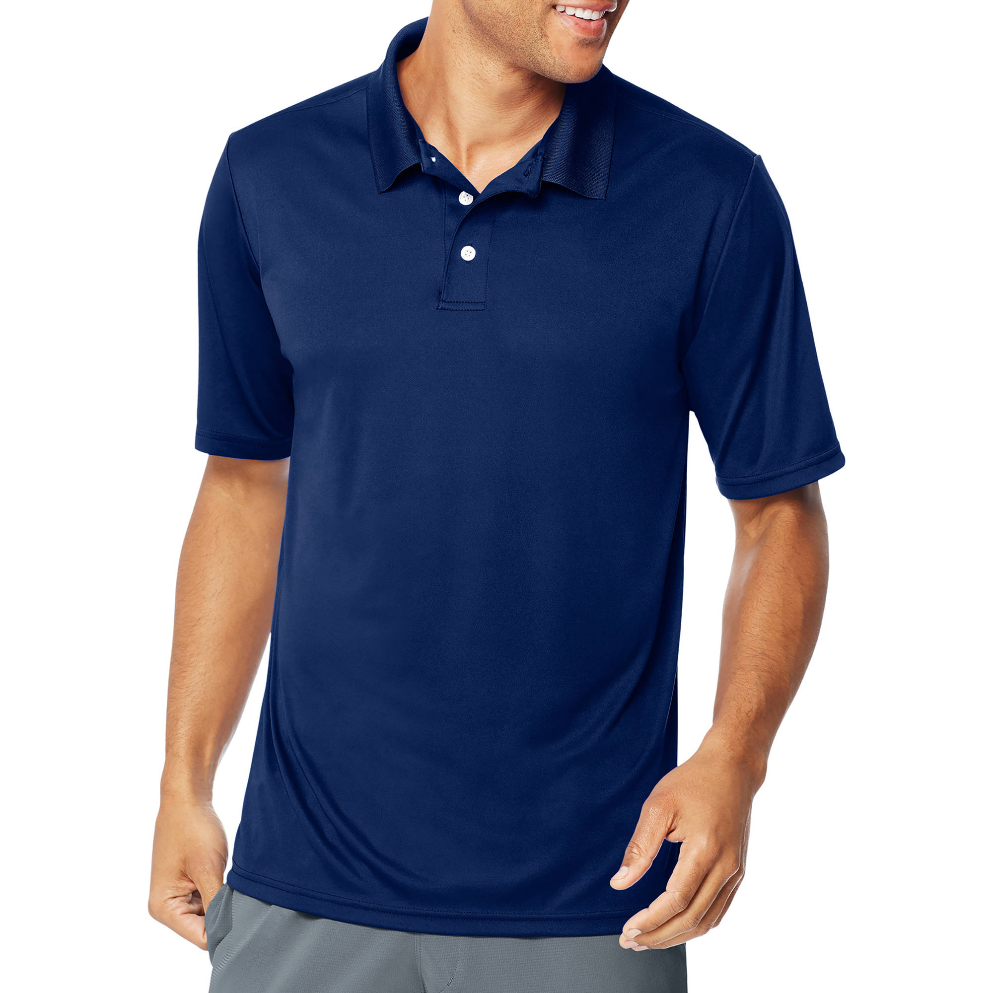 Hanes Sport Big Men's CoolDri Performance Polo (50+ UPF)