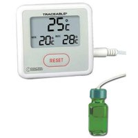 TRACEABLE 4322 Digital Thermometer, -40 Degrees  to 176 Degrees F for Wall or