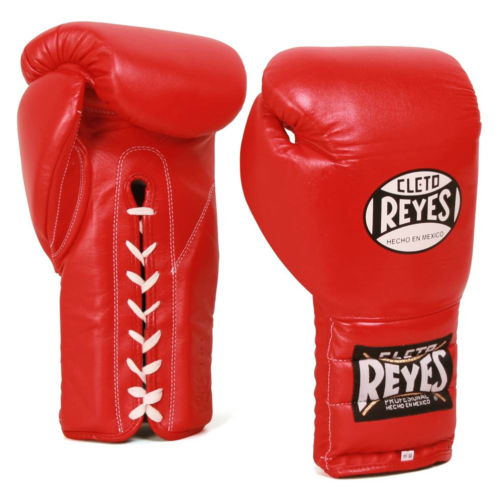 Training Gloves w Attached Thumb (12 oz. in Red)