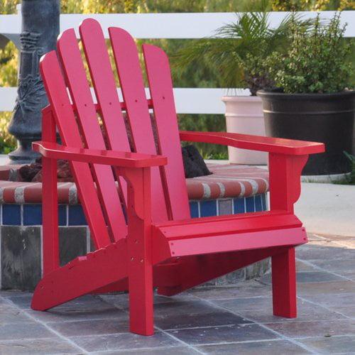 Shine Company Westport Adirondack Chair - Tomato Red