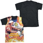 Atari - Missle Commander - Short Sleeve Black Back Shirt - X-Large