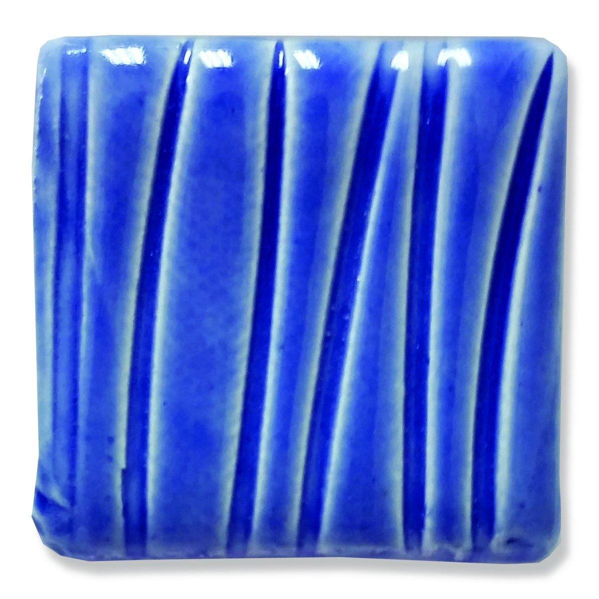 Speedball Art 16 oz. (pint) Earthenware Glaze--Medium Blue