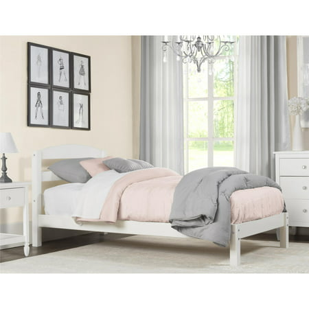 Better Homes & Gardens Leighton Twin Size Bed Frame, Bedroom Furniture, White