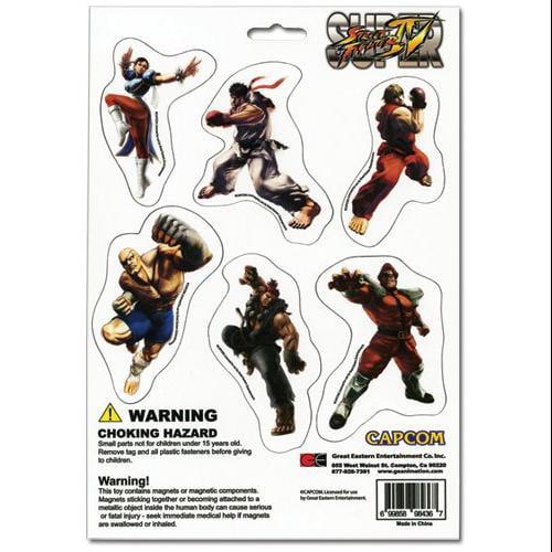 Street Fighter IV Magnet Collection Set