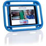"Gripcase Carrying Case for iPad Air 2 - Blue - Shock Absorbing, Impact Resistant, Abrasion Resistant, Bacterial Resistant, Mildew Resistant, UV Resistant, Fade Resistant - EVA Foam - Handle - 10.2"" He"