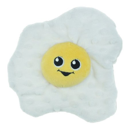 - Food Junkeez Plush Dog Toys Soft Squeakers Choose From 11 Funny Snack Characters (Fried Egg)