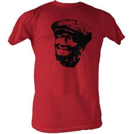 Sanford And Son Men's  Revolution T-shirt Cherry