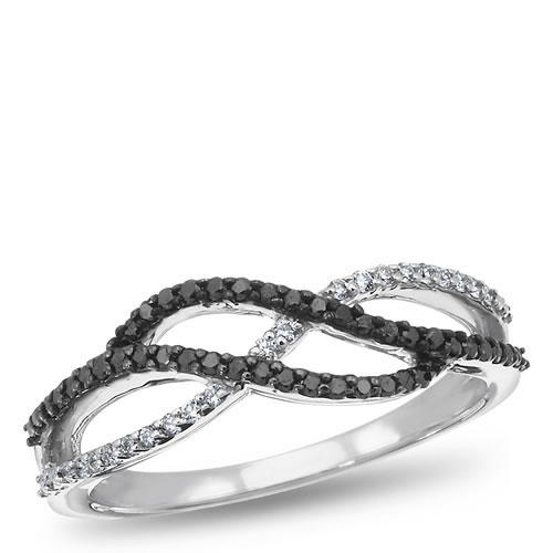 Everyday Diamond, Sterling Silver and Diamond Fashion Ring, 1/4 ctw.