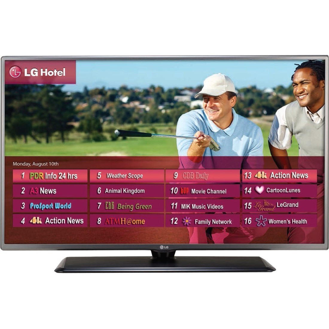 LG ELECTRONICS High Definition Television,22-7/64inH 43LV560H