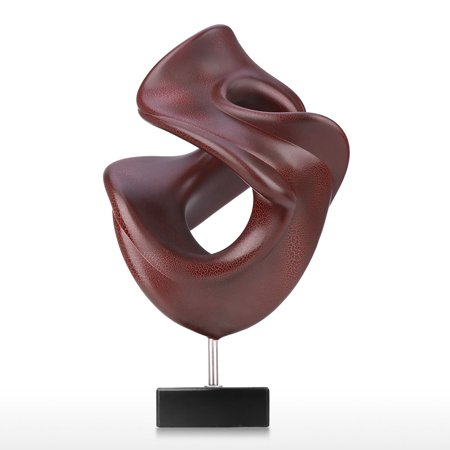 Abstract Resin Statue Modern Art Sculpture Handcrafted Art Decor Office Home Decor Figurine Gift - image 7 of 7