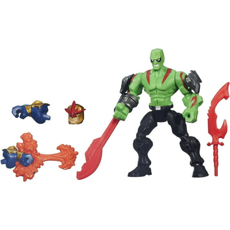 Marvel Super Hero Mashers Drax Figure (Elektra Superhero)