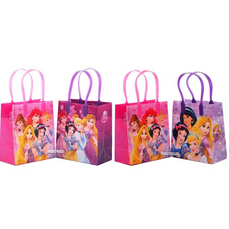 Disney Princess 12 Reusable Party Favors Small Goodie Gift Bags 6