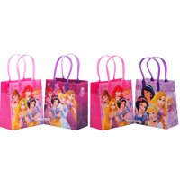 """Disney Princess 12 Reusable Party Favors Small Goodie Gift Bags 6"""""""