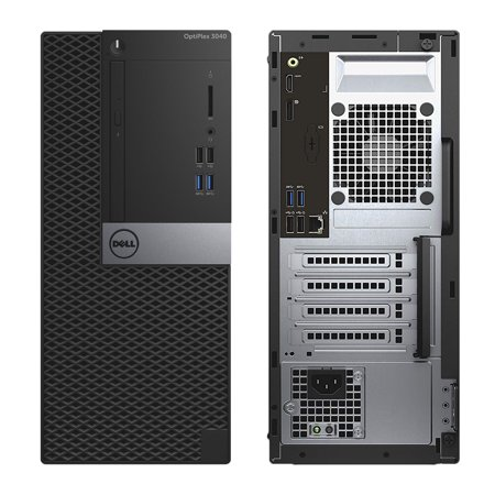 Refurbished - Dell OptiPlex 3040, MT, Intel Core i5-6500 up to 3.60 GHz, 4GB DDR3, 1TB HDD, DVD-RW, Wi-Fi, USB to HDMI Adapter, NEW Keyboard + Mouse, No OS - image 2 of 2