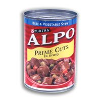 Alpo Prime Cuts Stew With Beef & Vegetables in Gravy Dog Food 13.2 oz