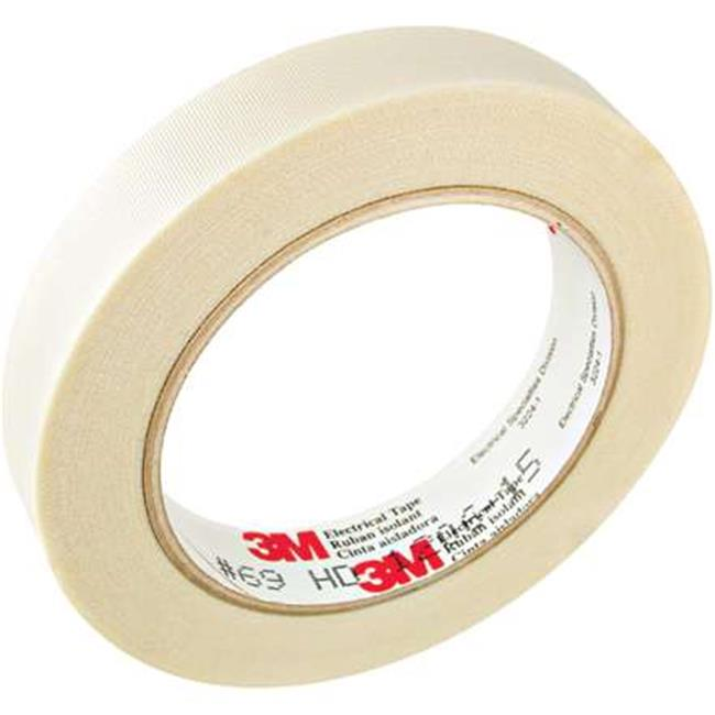 Scotch T9640691PK 0.75 in. x 66 ft. White 69 Electrical Tape
