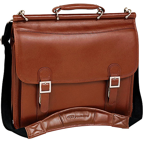 "McKlein 15.4"" Halsted Double Compartment Notebook Case  80334"