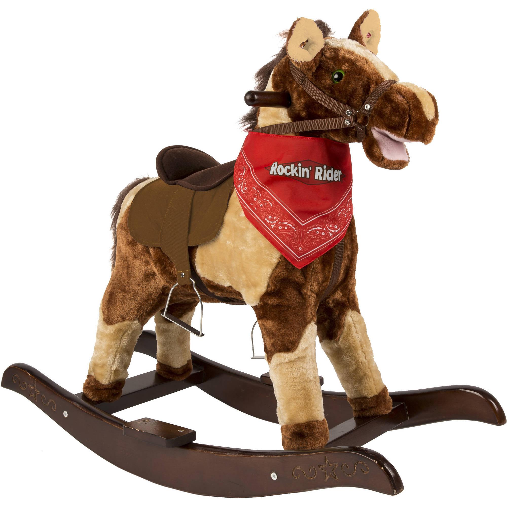 Tek Nek Toys International Rockin' Rider Scout Rocking Horse