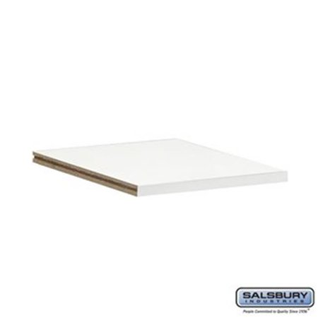 Salsbury 31092WHT 12 in. Compartment Shelf for Cubbies, White - image 1 of 1