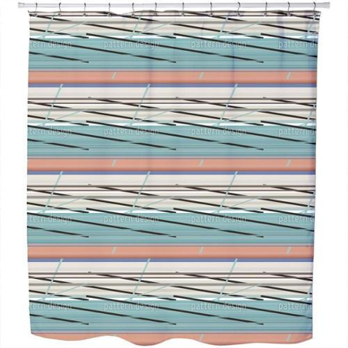See View Shower Curtain Extra Long (70 inches X 90 inches)