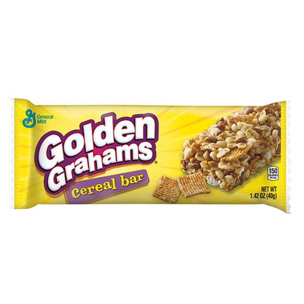 General Mills Golden Grahams Cereal Bar 1.42 Oz pack of 24