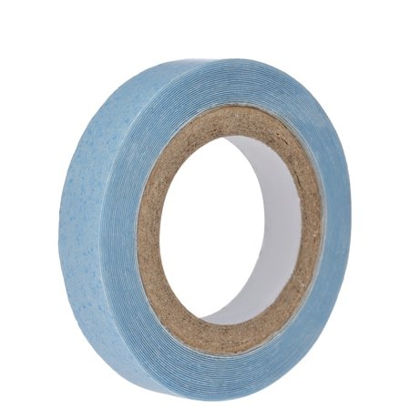 1 Roll 0.8cm 3yards Waterproof Hair Tape Double-sided Adhesive Glue For Hair Extension Toupee Lace