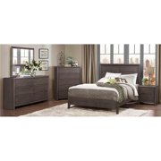 4-Pc Bedroom Set in Weathered Gray