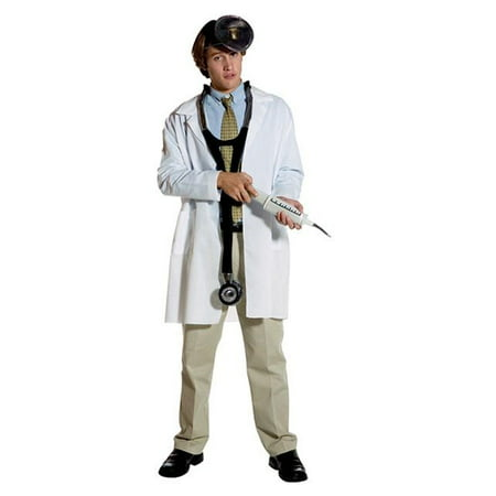 Adult Plain Lab Coat Costume
