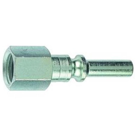 0.25 in. Hose End Quick Disconnect Coupling Plug CP28 Steel