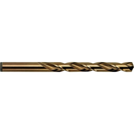 Irwin 631 Jobber Length Drill, 29/64 in Dia x 3-9/16 in OAL, Cobalt High Speed Steel