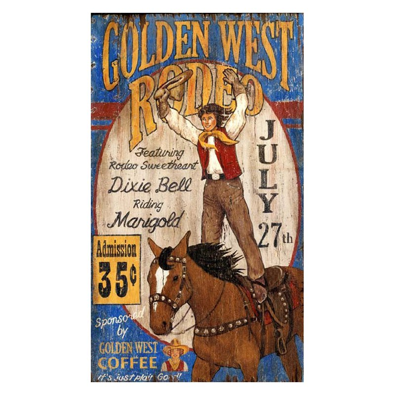 Golden West Wall Art