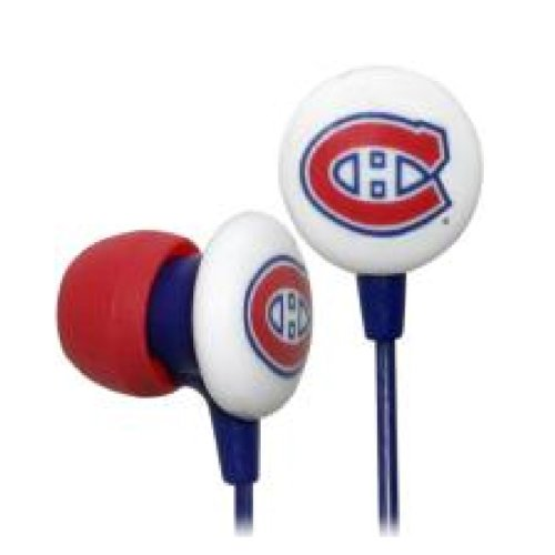 Ihip Logo Earbud - Montreal Canadiens Montreal Canadiens HPHKYMONEB