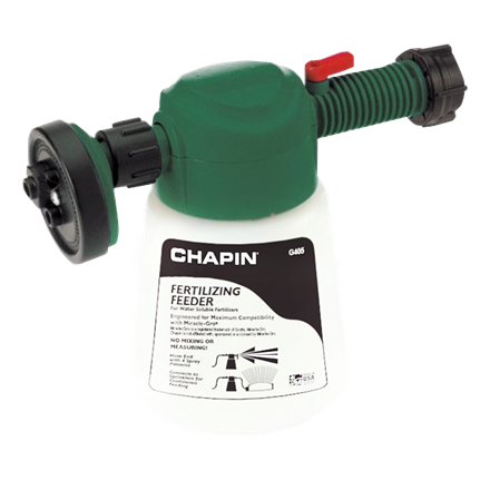 Chapin G405 Fertilizer Feeder Hose End For Dry and Water Soluble Fertilizers
