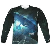 Star Trek Beyond Out There (Front Back Print) Mens Long Sleeve Sublimation Shirt