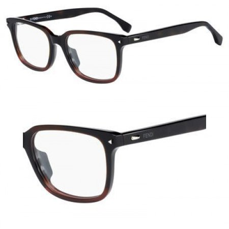 Eyeglasses Fendi Men Ff 220 021C Shaded Havana (Fendi Eyeglasses Men)