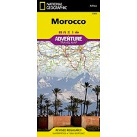Adventure map: morocco - folded map: 9781566955300