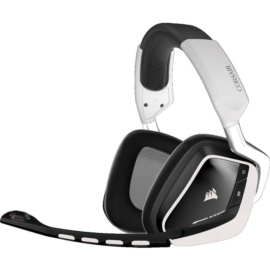 Corsair VOID Wireless Dolby 7.1-Channel Surround Sound Gaming Headset for PC White VOID WIRELESS RGB WHITE