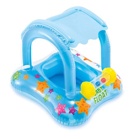 Intex My Baby Float Inflatable Swimming Pool Kiddie Tube Raft
