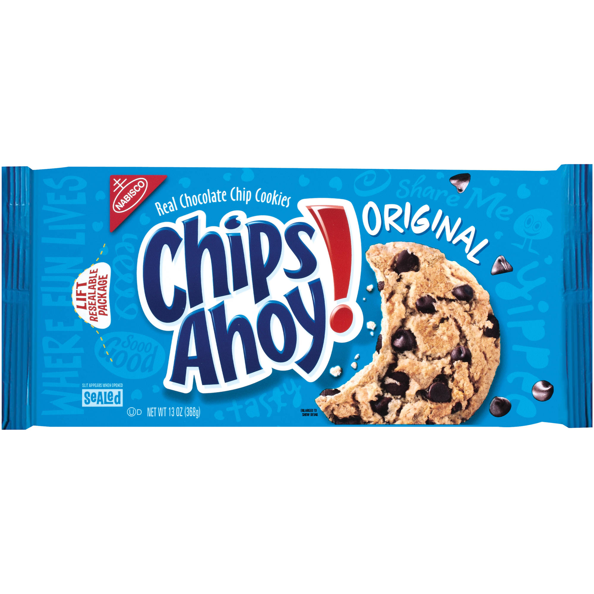 Nabisco Chips Ahoy! Original Chocolate Chip Cookies, 13 oz