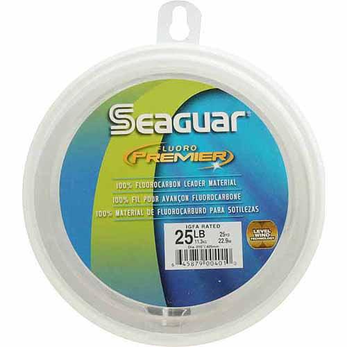 Seaguar Fluoro Premier Line, 25 Yards