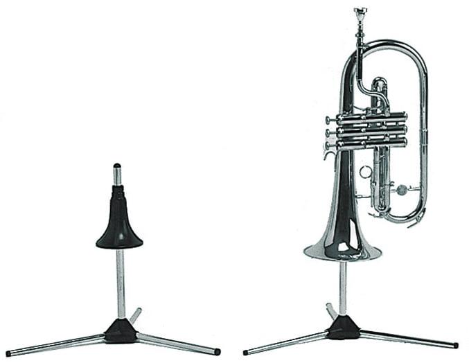 Manhasset #1500 Trumpet Stand-In, Instrument Stand by Manhasset
