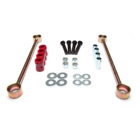 Rear Sway Bar End Links, 4 Inch Lift, 07-14 Jeep Wrangler ()