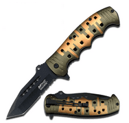 MTECH USA MT-A839C Spring Assist Knife, 5-Inch Closed Multi-Colored
